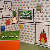 Interactive room set for Cruachan Power Station Visitor Centre